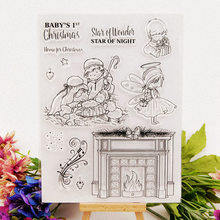 Baby Christmas Clear Stamps for DIY Scrapbooking Card Rubber Transparent Making Album paper Craft Decoration New