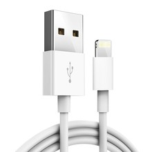 Original USB Cable Fast Charging USB Charging Data Sync Cable For iPhone X 8 7 6 6S Plus 5 5S For iPad Air Charger Cord With Box стоимость