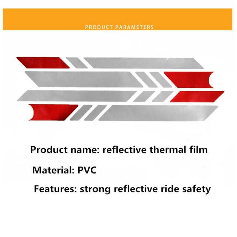 Reflektierende Aufkleber Für Xiaomi Mijia M365 Elektrische Roller M365 M365 Pro Licht Tags Paster Nacht Sicherheit Warnung Streifen Reflektor