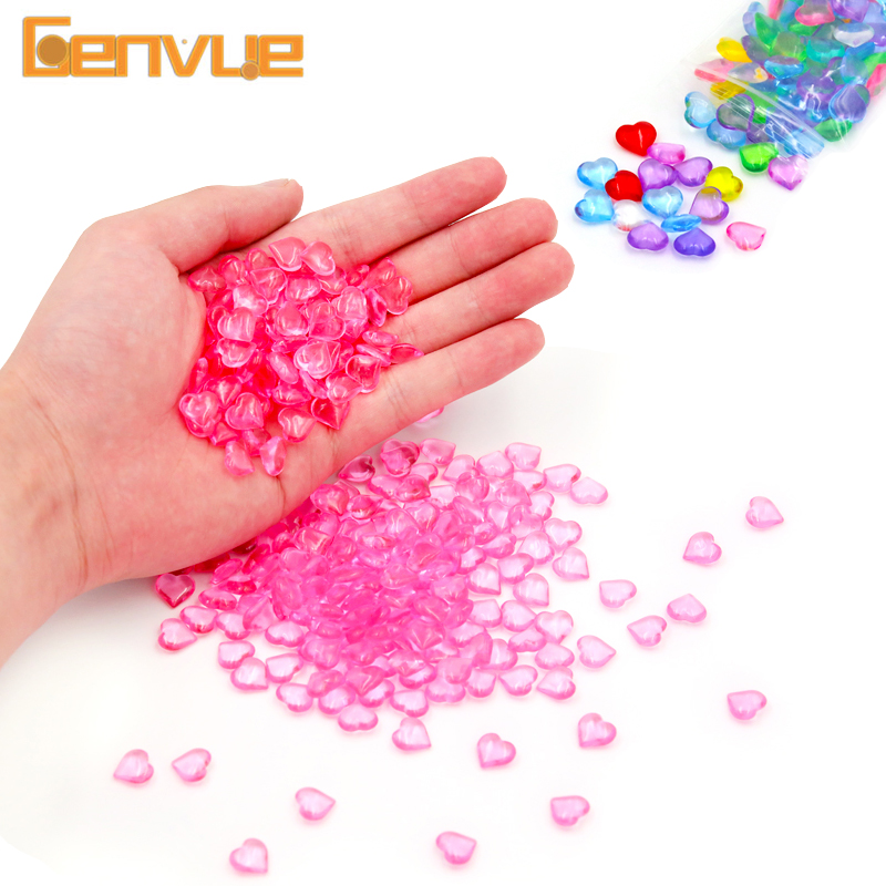 Colorful Fishbowl Beads Slime Clay Ball Supplies DIY Light Soft Putty Fluffy Slime Charms Filler Addition For Slime Accessories