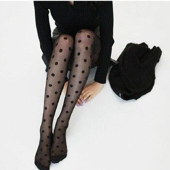 Women Classic Small Polka Dot Tights INTIMATES Socks