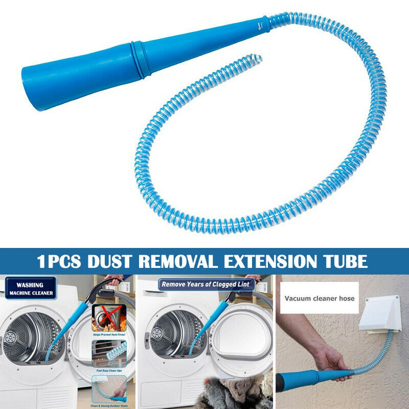 Universal Dryer Vent Vacuum Cleaner Attachment Dust Cleaner Pipe Vacuum Lint Hoses