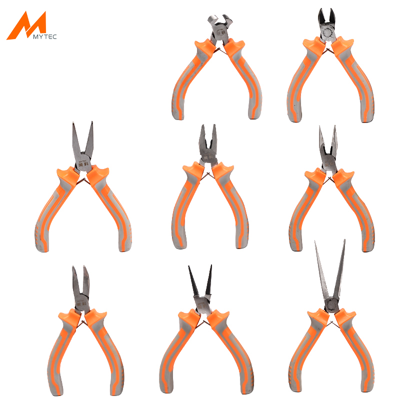 """5"""" Professional Mini Pliers Set for Jewelry Making Craftsman Small Round Nose Needle Long Nose Multitool Pliers and Cutters"""