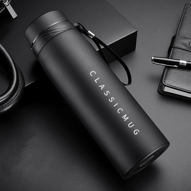 1500ml/1100ml/650ml Portable Double Stainless Steel Vacuum Flask Coffee Tea Thermos Sport Travel Mug Large Capacity Thermocup 4