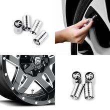 4 шт шины для легковых автомобилей Воздушный стебли крышка колеса