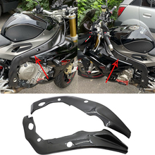 Side-Frame-Covers Carbon Bmw S1000rr for Water-Transfer-Printing 2009 Black