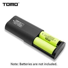 Внешний аккумулятор TOMO A2, 2*26650, зарядное устройство для литиевых батарей, ЖК-дисплей, Micro USB вход, двойной выход,