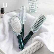 Youpin Jordan & Judy peigne de Massage antistatique peigne à cheveux bouclés peigne de ménage Salon de coiffure professionnel cylindre rouleau peigne