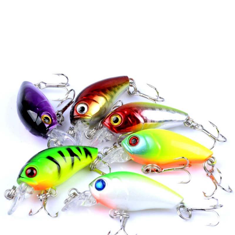 6/9 шт разноцветные приманка для рыбалки набор приманки комплект
