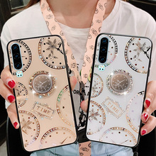 Glitter Silicone Phone case For huawei