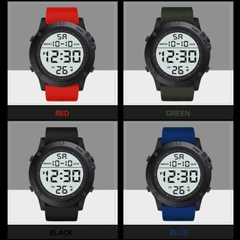 Fast Delivery Mens Watch Fashion And Water Resistant Military Sports Luxury LED Digital  Low Price