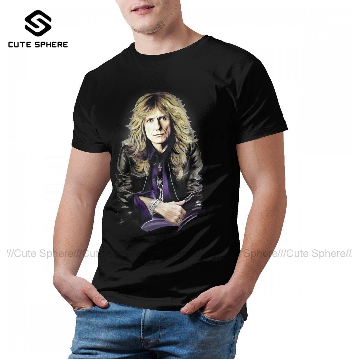 Whitesnake T-Shirt Summer Fashion 100 Percent Cotton T Shirt Printed Short Sleeves Tshirt Men Plus size