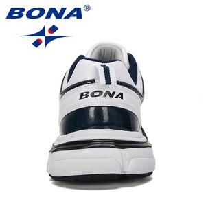 Image 2 - Bona 2019 Nieuwe Ontwerpers Lederen Loopschoenen Mannen Outdoor Sneaker Schoenen Casual Ademende Schoenen Jogging Tennis Schoenen Man Trendy