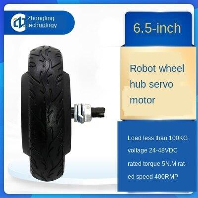 6,5 дюймов робот Серводвигатель мотор драйвер Комплект Встроенный кодер 24V 36V 48V 150W-350W