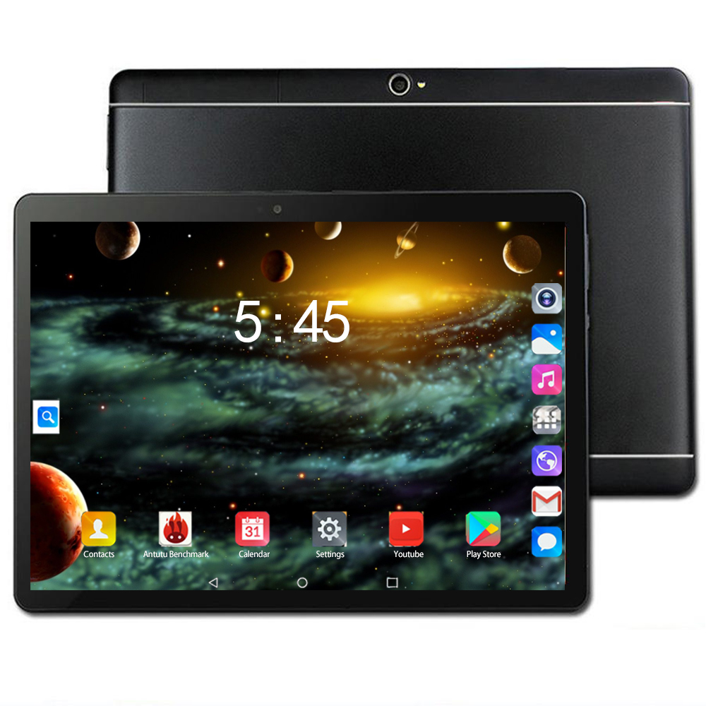2020 Android 8.0 Tablets 10.1 Inch 3G 4G LTE FDD Phone Tablet PC 8 Core RAM 6GB ROM 128GB IPS Dual SIM Card  New Years Gifts
