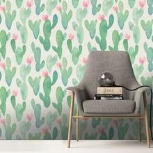 Wall Sticker Custom Fashion Wallpaper Floral Geometric Modern Minimalist Abstract Background Room Decoration