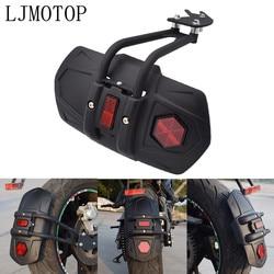 Dla Suzuki GSXR600 GSXR750 GSXR1000 SV650 CBR600 Katana błotnik motocyklowy osłona tylnego koła osłona rozbryzgowa błotnik i wspornik na