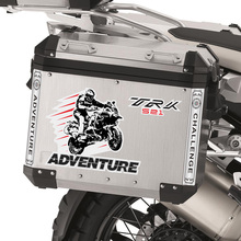 цены на For Benelli TRK502 502 TRK X TRK521 ADV Stickers Decal Aluminum box panniers Luggage Saddlebag Trunk Side Tail case TRK  в интернет-магазинах