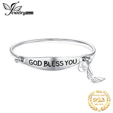 цены Hand Love Bracelet 925 Sterling Silver Bracelet ID Charm Bracelet Bangle Bracelets For Women Silver 925 Jewelry Making Organizer