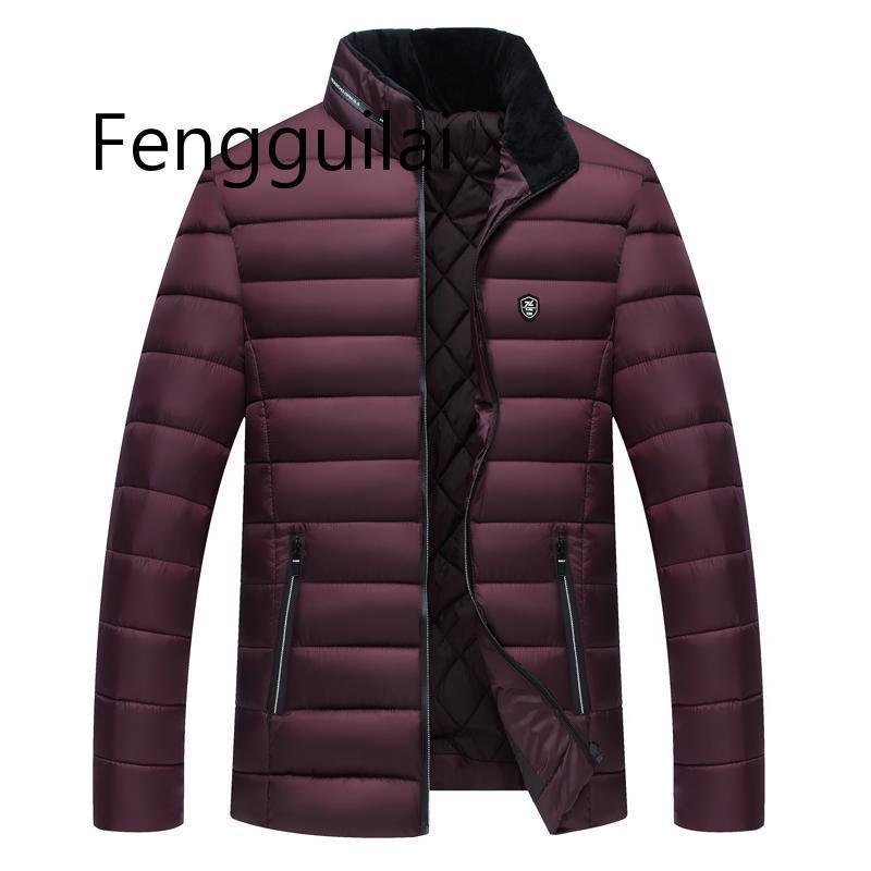 2020 New Fashion Jackets Men Parka Hot Sale Quality Autumn Winter Warm Outwear Slim Mens Coats Casual Windbreak Jackets Men