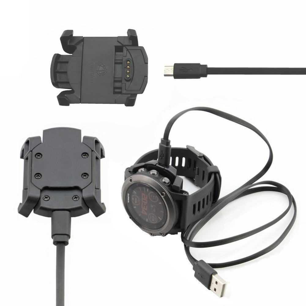 Charger For Garmin Fenix 3 Sasfety Data Sync Cradle Dock Desktop USB Charging Clip Station For Garmin Fenix 3 Smart Watch