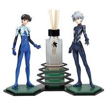 20-21cm 1 conjunto japonês original clássico anime figura ikari shinji nagisa kaworu/asuka langley soryu/ayanami rei/figura de ação