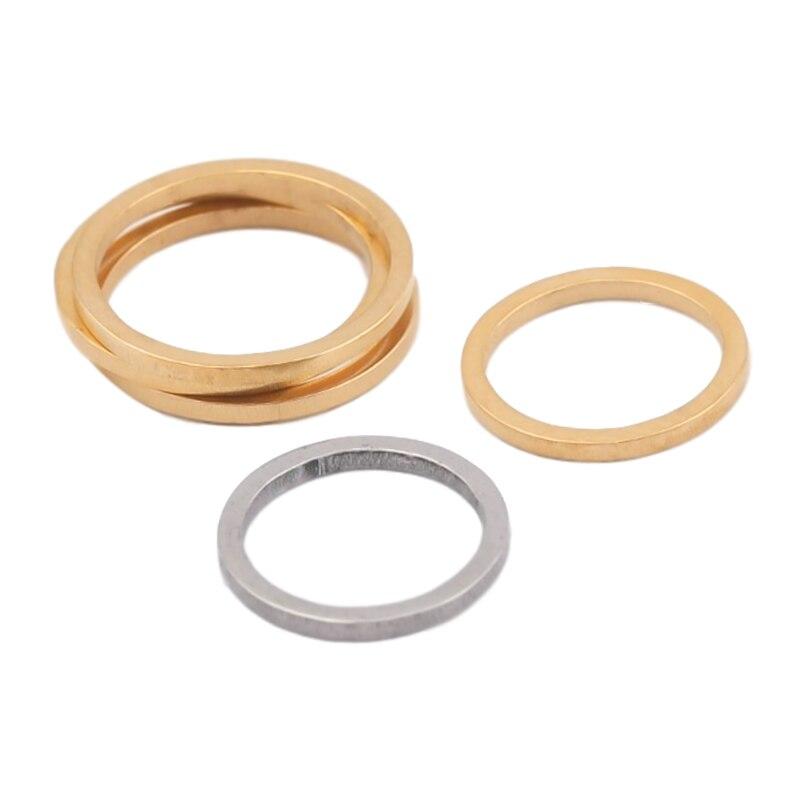 20 pçs de aço inoxidável 10/12mm círculo conectores hoop brincos encantos link o anel para diy jóias fazendo feminino brinco descobertas
