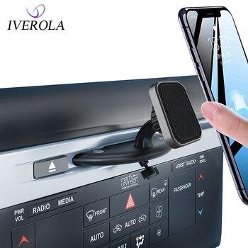 Univerola Magnetic Car phone holder Universal CD Slot Mount Cradle Holder 360 rotation Holder Support for iPhone 11/Samsung
