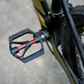 Универсальный герметичный подшипник открытый горный шоссейный велосипед педали Платформа велосипед нескользящий сплав Плоские Педали ...