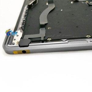 """Image 3 - 오리지널 13.3 """"A1708 Topcase Space 그레이 실버 미국 키보드 트랙 패드 백라이트 Macbook Pro 용 Retina A1708 탑 케이스 커버"""