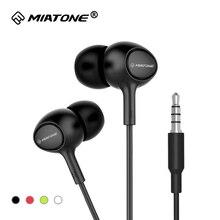 HD Clear Super Bass Stereo Ergonomic In ear Earphones 3 5mm Jack Wired Headphones Headset Earbuds