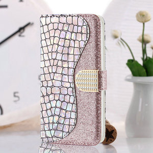 Image 4 - Bling Sequins Leather 360 Protect for Samsung Galaxy A52 5G 2021 Luxury Case Samsung A 52 Flip Cover Card Slot Wallet Shell Etui
