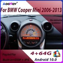 Android 10,0 8G 128G Auto Radio Audio-Player Multimedia GPS für BMW Mini Cooper R56 R60 2007-2014 drahtlose Carplay GPS Navigation