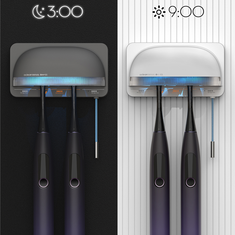Oclean S1 Smart UVC Toothbrush Sterilizer Gold Wave Ultraviolet Rays Bacteria Sterilizing Safe And Worry-free toothbrush New