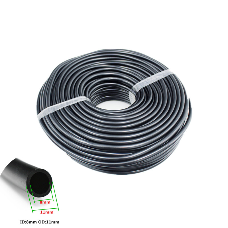 """Fast Shipping 30m 3/8"""" PVC Soft Micro-Tubing (11 x 8mm) Drip Garden Hose Watering and Irrigation Drip Fittings Microtube"""