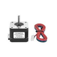 цена на High Quality 4-lead Nema 17 Stepper Motor 42 Motor 42BYGH 1.3A 3D Printer Motor Electric Motor Gear Motor 17HS3401S