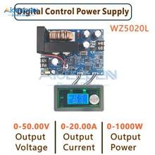 WZ5020L WZ5012L DC Buck – convertisseur CC CV, 50V, 20a, 12a, 1000W, tension réglable, alimentation régulée
