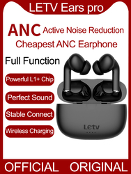 Original Letv Ears pro TWS Wireless Bluetooth Earphone ANC Active Noise Cancellation Reduction Gaming Earbuds Wireless Charging
