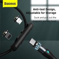 Cavo a spina magnetica Baseus 2A/3A/5A 1M USB C tipo C cavo magnete cavo di ricarica Micro USB cavo dati universale per telefono cellulare