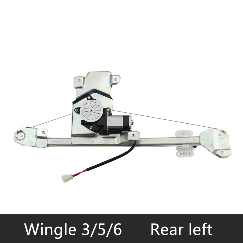 Window regulator assembly with <font><b>motor</b></font> for 06-17 Great wall Wingle 3/5/6 Left right front rear door image