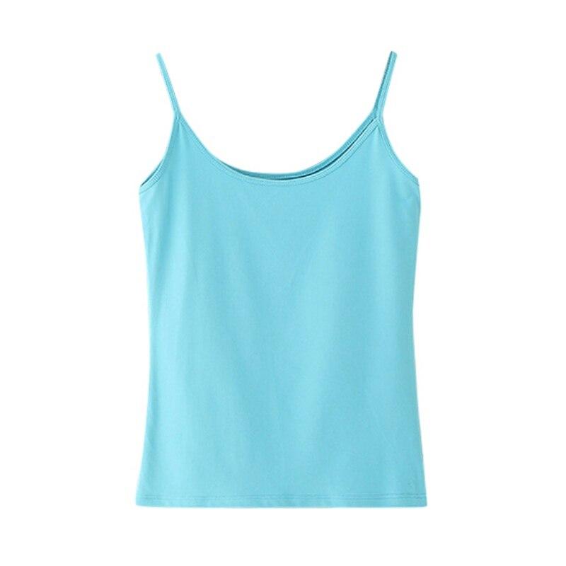 Camis/Хлопковые простые кофточки на бретельках; Летние топы; Цвет черный, белый, розовый; Топы для фитнеса; Roupas Femininas