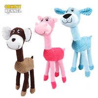 Hodowla CAWAYI pies zabawkowe zwierzątko Puppy interaktywne piszczałki dźwięk Chew Zabawki Dla psów Zabawki Dla Psa Juguete Perro Honden Speelgoed