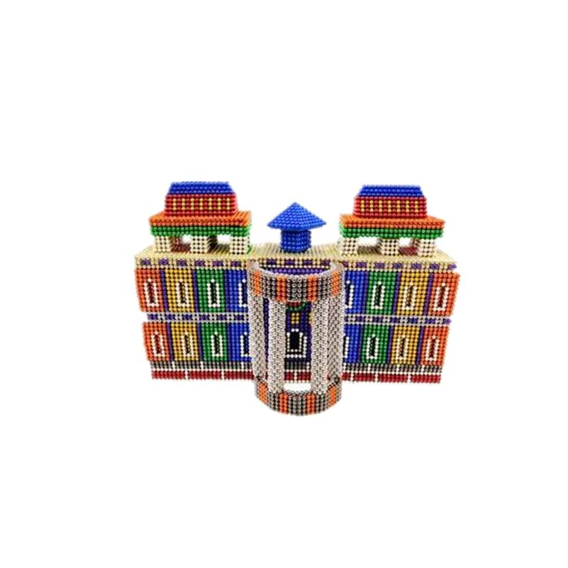 Fast Express 216 Block Building Magnet Balls Cubes 216pcs/set Magnetic Blocks Building Block Puzzle Educational Children Toys