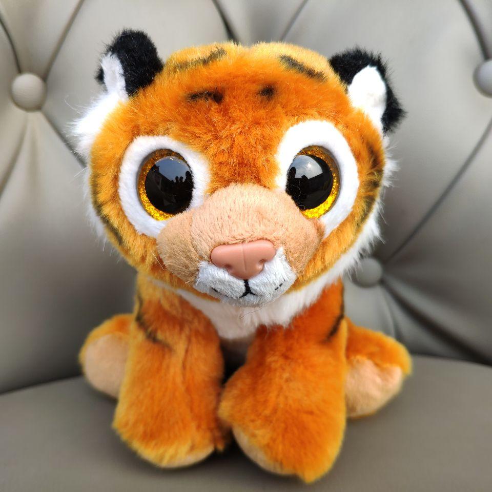 TIGGS Brown Tiger 1PC 15CM 6