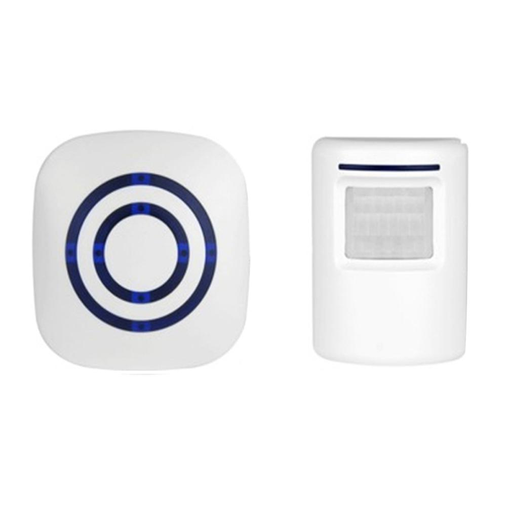Infrared Motion Sensor Wireless Home Door Bell Anti-theft Alarm With 38 Songs