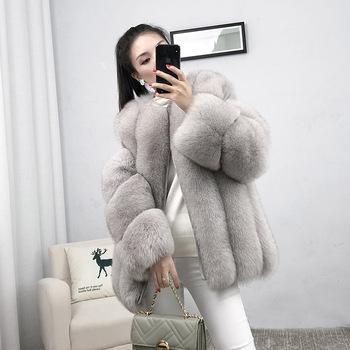 fur coat real fox winter ladies and women detachable 2020 hot sell