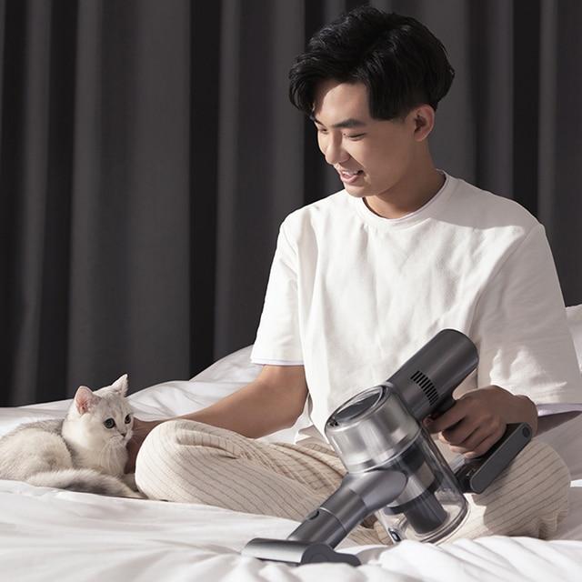 Dreame V11 aspirateur sans fil Portable OLED affichage Portable sans fil 25kPa tout en un dépoussiéreur sol tapis nettoyeur