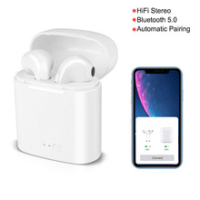 Pop Up Window I7 Mini Tws Bluetooth 5.0 Chip Stereo Bass Ear