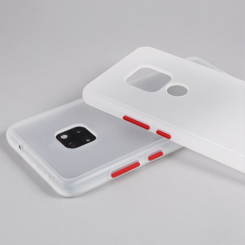 Роскошный противоударный матовый прозрачный чехол на заднюю панель телефона coque чехол для huawei mate 20 pro mate20 20pro мягкий силиконовый pc