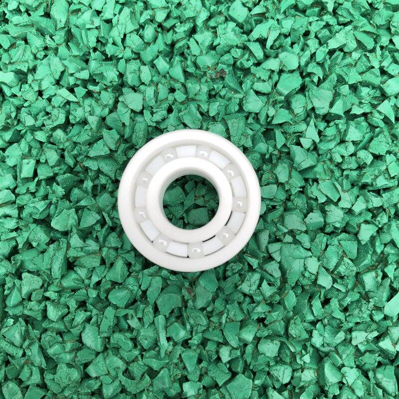 50pcs/100pcs 608 ZrO2 full Ceramic bearing 8x22x7 mm Zirconia Ceramic ball bearings 8*22*7 roller skating bearings 8mm*22mm*7mm Bearings Sports & Entertainment - title=